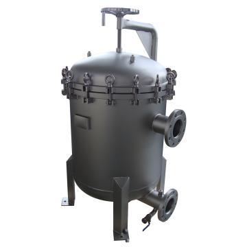 SAM 多袋式过滤器,SAM-M2,滤袋数量2,最大流量90m3/h,进出口径DN80,不锈钢304,需另配2#滤袋