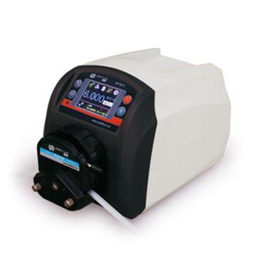 流量智能型蠕动泵,BT301L(流线型塑料机箱)泵头YZ15,单通道流量(毫升/分钟)0.006~1340,通道数量1