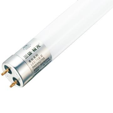 三雄极光 9W  LED T8灯管 星际系列 双端进电,PAK542713,0.6米 4000K 中性白,整箱 25支每箱