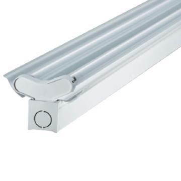 三雄极光 LED T5支架 亮雅系列 PAK-A02-228-AD-K 双灯管,带反射罩 长度1.2米 空包不含灯管(适配1.2米T5 LED灯管双端进电2pcs)