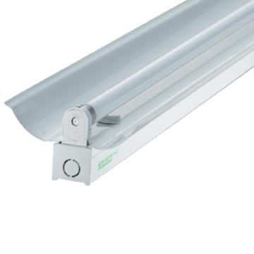 三雄极光 LED T5支架 亮雅系列 PAK-A02-128-AD-K 单灯管,带反射罩 长度1.2米 空包不含灯管(适配1.2米T5 LED灯管双端进电1pcs)