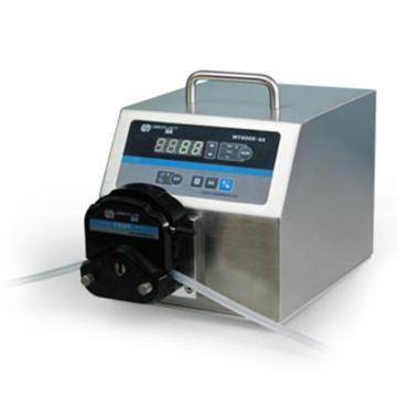 基本调速型蠕动泵,WT600S-65泵头YZ15,单通道流量(毫升/分钟)3~2300,通道数量1