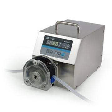 基本调速型蠕动泵,WT600S泵头YZ15,单通道流量(毫升/分钟)3~2300,通道数量1