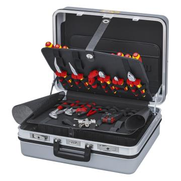 凯尼派克 Knipex 电气维护工具箱,23件组套,00 21 30