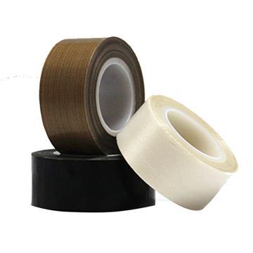 特氟龙PTFE玻璃纤维布耐高温胶带,黑色,0.18mm*100mm*10m