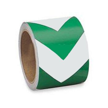 贝迪BRADY 夜光V型胶带,75mm×4.5m,绿/白