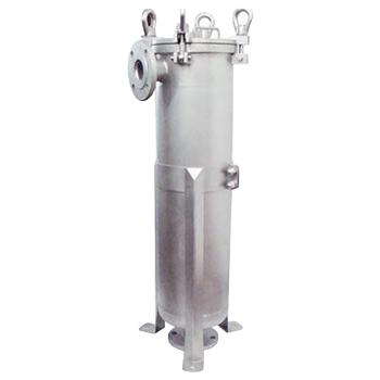 SAM P系列单袋式过滤器,SAM-2P,侧进式,过滤面积0.5m2,最大流量40m3/h,容积27L,需另配2#滤袋