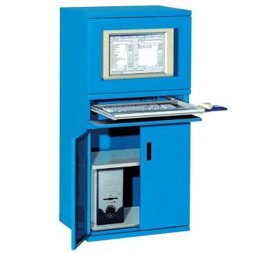 锐德 工业电脑柜, 800W*650D*1600H 1层可调层板