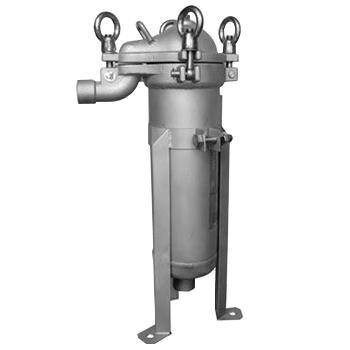 SAM S系列单袋式过滤器,SAM-4S,顶入式,过滤面积0.1m2,最大流量10m3/h,容积5L,需另配4#滤袋