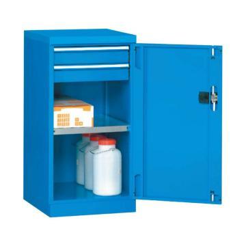 带门工具柜, 564W*600D*1000H 1层层板2个抽屉