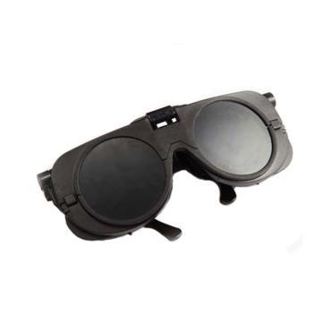 以勒 焊接眼镜,802-8#,可掀起式焊接眼镜