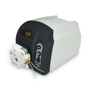 基本调速型蠕动泵,BT101S(流线型塑料机箱)泵头YZ15,单通道流量(毫升/分钟)0.006~575,通道数量1
