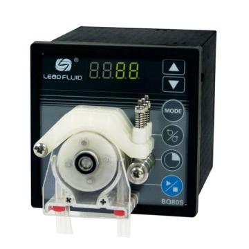 基本调速型蠕动泵,BQ80S泵头DW10-3,单通道流量(毫升/分钟)0.005~32,通道数量1