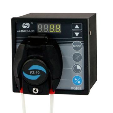 基本调速型蠕动泵,BQ50S泵头DW10-3,单通道流量(毫升/分钟)0.005~32,通道数量1