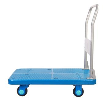 连和 超静轮单层固定式手扶手推车,超静轮,200KG