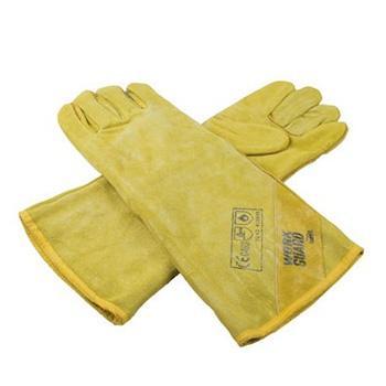 Ansell 43-216-10 WorkGuard牛皮焊接手套,(均码)