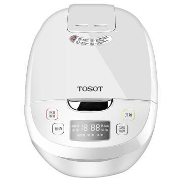 格力TOSOT 4L家用智能预约定时电饭煲,GDF-4019C