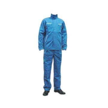 防电弧分体服,38.2cal,宝蓝色,尺码:XL