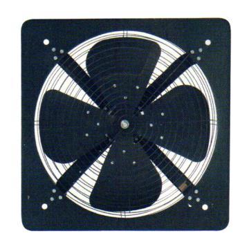 德通 方形排风扇,FAD35-4,220V,Ф350mm,带前后网罩