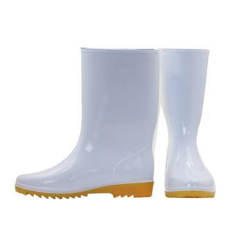 丽泰 耐酸碱耐腐蚀耐油食品靴,桶高27cm,36