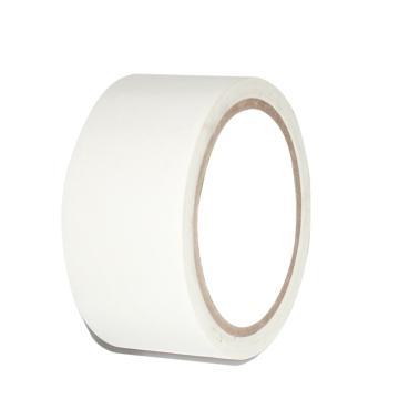 安赛瑞 地板划线胶带(白色)-高性能自粘性PVC材料,50mm×22m,15586
