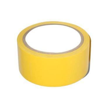 安赛瑞 地板划线胶带(黄色)-高性能自粘性PVC材料,50mm×22m,14311