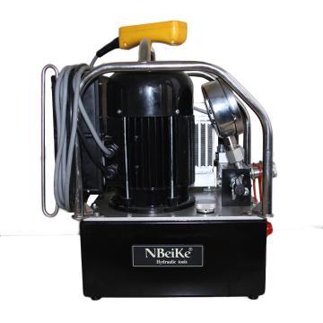恩贝克电动液压三级泵,NK70,220V,1.1KW,7.6L,70MPa,高压0.8L/min,低压8L/min