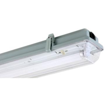 远东照明 LED T8三防灯,全塑 F7218 双管 0.6米 适配双端进电LED T8灯管(不含灯管),单位:个