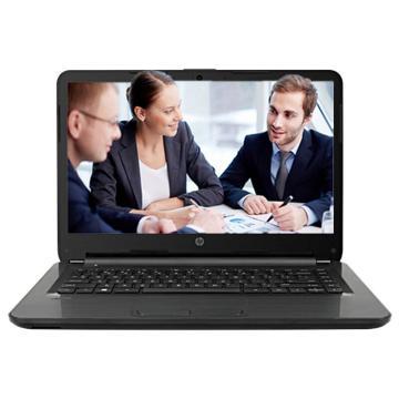 惠普(HP)340G4 14英寸笔记本电脑黑色(i3-7100U/4G/ 500G/ AMD M430 2G显存/ Win10 ) 含电脑包鼠标