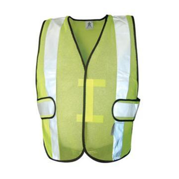安大叔 高可视性反光背心,荧光黄,XL