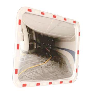 安赛瑞 方形广角镜,进口柔性PC镜面,含安装配件,600×400mm,14318
