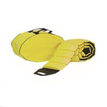 安赛瑞 便携式减速带(自卷式),高强度塑胶材质,黄色,含收纳包,展开规格3000×230×40mm,14463