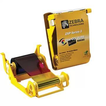 斑马(ZEBRA) 证卡打印机 制卡机 印卡机 ZXP 3C黑色碳带 800033-301  (2000张/卷)