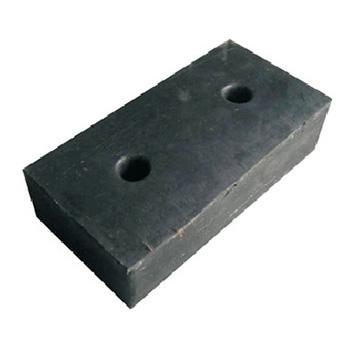 襄辰 反光橡胶防撞块,长400×高200×100mm
