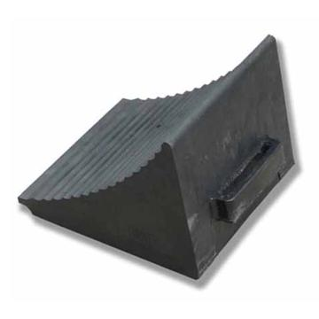 安赛瑞 重型车轮止退器,优质原生橡胶,黑色,重12kg,320×300×260mm,14469,2个/套