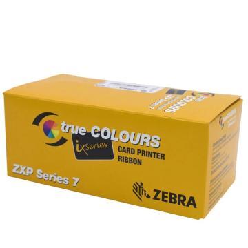 斑马(ZEBRA) 证卡打印机 制卡机 印卡机 ZXP 7黑色碳带(5000张/卷)