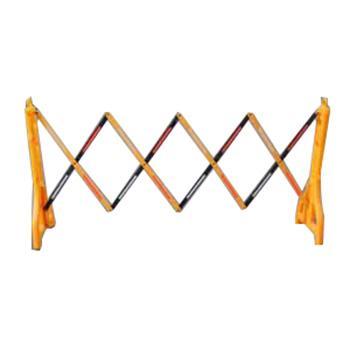 襄辰 塑料伸缩护栏,总高960mm,拉伸长2.5米,合起长270mm,材质PE
