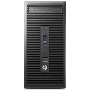 惠普(HP)EliteDesk705 G3 MT 商用办公台式电脑主机(Bristol-Pro A6-9500 4G 500G 2G独显 三年上门 Win10)