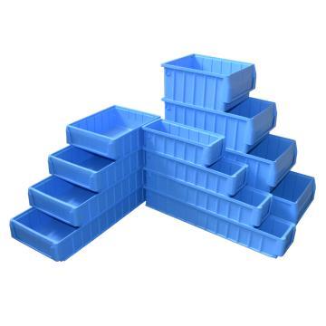 捷通 分隔式零件盒,500*234*90mm 蓝色全新料 不含前盖板 20个/箱(可配分隔片VC209 钢制VC234提手)