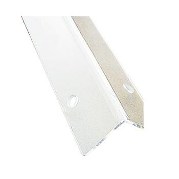 安赛瑞 亚克力墙面护角,亚克力材质,透明,含安装配件,58mm×58mm×1.5m,厚3.8mm,15534,10根/包