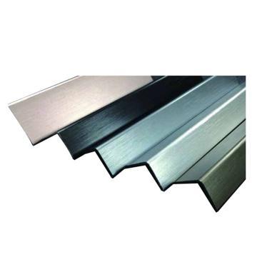 安赛瑞 不锈钢墙面护角,拉丝不锈钢,银色,附双面胶,25mm×25mm×1.5m,厚1mm,15524,10根/包