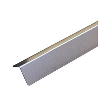 安赛瑞 铝合金墙面护角,磨砂铝合金,玫瑰金,附双面胶,36mm×36mm×1.5m,厚1.5mm,15513,10根/包