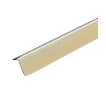 安赛瑞 铝合金墙面护角,磨砂铝合金,金色,附双面胶,36mm×36mm×1.5m,厚1.5mm,15512,10根/包