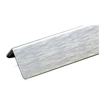安赛瑞 铝合金墙面护角,拉丝铝合金材质,银色,内附双面胶,36mm×36mm×1.5m,厚1.5mm,15509,10根/包