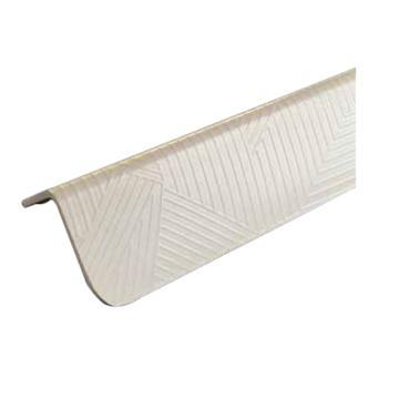 安赛瑞 PVC墙面护角,进口PVC材质,交叉纹,米色,内附双面胶,36mm×36mm×1.5m,厚2.2mm,15504,10根/包