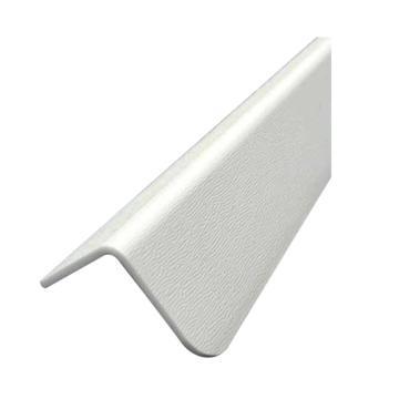 安赛瑞 PVC墙面护角,进口PVC材质,压纹,米色,内附双面胶,36mm×36mm×1.5m,厚2.2mm,15502,10根/包