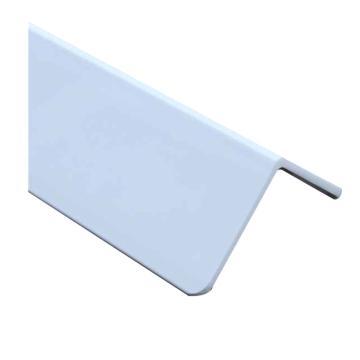 安赛瑞 PVC墙面护角,进口PVC材质,光面,白色,内附双面胶,45mm×45mm×1.5m,厚2.5mm,15499,10根/包