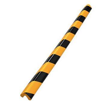 安赛瑞 经济型防撞条(直角),发泡橡胶材质,黄黑条纹,31×31×900mm,14492