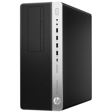 惠普(HP)EliteDesk 600 G3 TWR 台式电脑主机(i7-7500 4G 128G 2G独显 DVDRW Win10 三年保修)