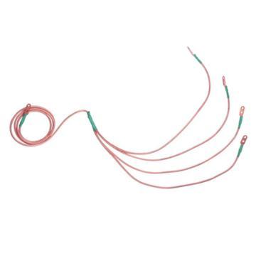 华泰 10kv接地线套装 ( 3*0.8+7米  25平方线+3根 0.5米长手握式接地棒+1接地夹)
